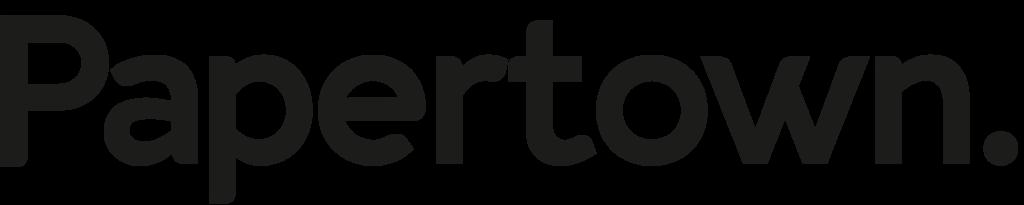 Paper town logotyp
